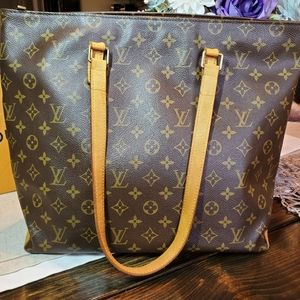 Authentic Louis Vuitton Cabas Mezzo Bag Monogram